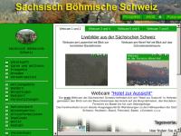 Webcams für die Sächsische und Böhmische Schweiz