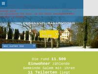 Gemeinde Salem am Bodensee.