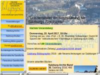 """Verein """"Freunde der Salzburger Geschichte"""""""
