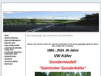 Die Homepage des Samtroten-Sonderkäfers