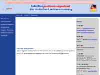 Satellitenpositionierungsdienst der deutschen Landesvermessung (SAPOS)