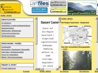 1500 Homepages der Region Sauerland Siegerland