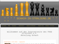 Sektion Schach der Fachhochschulsportgemeinschaft Stralsund e.V.