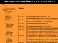 Betriebssportverband Hamburg e.V. Schach