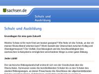 Sachsen: Rechtliche Grundlagen