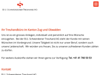 B.U.Schwendener Treuhand AG, Steinhausen