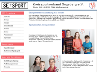 Kreissportverband Segeberg e.V