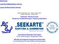 Seekarte Kapitän A. Dammeyer