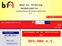 Bund zur Förderung Sehbehinderter Landesverband NRW e.V. (BFS-NRW e.V.)