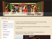 Der Seiffener Stübelmacher Gunter Flath