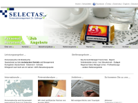 Selectas - Personalmanagement Dr. Edlinger