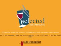 Selected Restaurants in Frankfurt