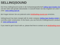 Selling sound royalty free music GbR