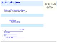 Ski For Light - Japan