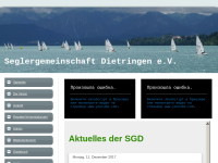 SGD - Seglergemeinschaft Dietringen e.V.