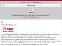 Sozialdemokratische Gemeinschaft für Kommunalpolitik - SGK Region Hannover