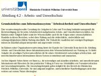 """GUV-Regel """"Umgang mit Gefahrstoffen in Hochschulen"""" (GUV-SR 2005)"""