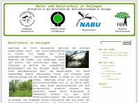 Natur und Naturschutz in Solingen