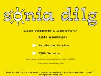 Diplom-Designerin Sonia Dilg