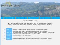 Sonnendorf Illgau im Kanton Schwyz