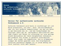Verein für authentische sorbische Volksmusik e.V. (TSLH)