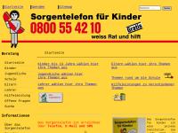 Telefonische Krisenberatungsstelle für Kinder und Jugendliche
