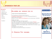 Spanisch-Test.de