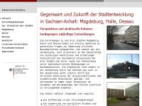 Magdeburg, Halle, Dessau - Ein städtebauliches Forschungsprojekt