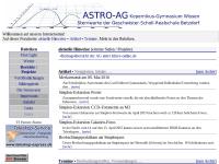 Astro-AG Wissen Sternwarte Betzdorf