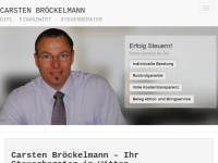 Steuerberatung Dipl.-Finanzwirt Carsten Bröckelmann