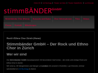 Stimmbänder GmbH