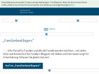 Bayerisches Staatsministerium für Arbeit und Sozialordnung, Familie, Frauen und Gesundheit