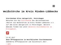 """Aktionskomitee """"Rettet die Weißstörche"""" im Kreis Minden-Lübbecke e.V."""