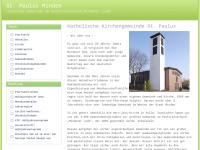 Kath. Pfarrei St. Paulus Minden