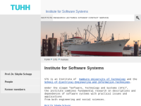 TUHH - Arbeitsbereich Software Systems Group (STS)
