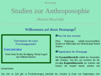 Studien zur Anthroposophie