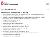 Studieren in Berlin und Brandenburg