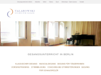 Studio für Gesang - Berlin