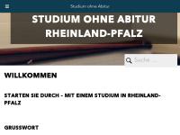 Studieren ohne Abitur in Rheinland-Pfalz