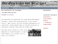 Geschichte von Stuttgart