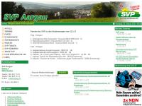 Schweizerische Volkspartei Aargau - SVP