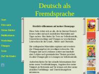 Deutsch als Fremdsprache: Homepage von Olga Swerlowa