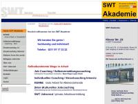 SWT - Service Weiterbildung Transfer, Stiftung für nachhaltige Entwicklung und gerechte Partizipation