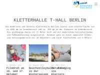 Die T-Wall Kletterhalle GmbH