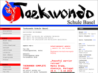Kim Taekwondo Schulen Basel und Allschwil