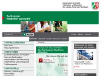 Tarifregister Nordrhein-Westfalen