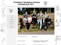 Wiesbadener Mandolinen-Orchester Taunus-Freunde 1921