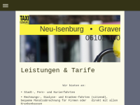 Taxivereinigung in Neu-Isenburg GmbH
