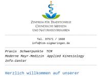 Zentrum für Traditionelle Chinesische Medizin und Naturheilkunde Sigmaringen