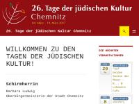 Tage der jüdischen Kultur Chemnitz